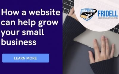 Learn how a simple website can help you grow your small business