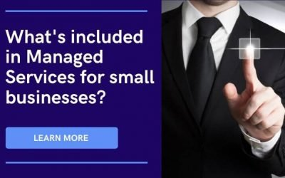 What's included in managed services for small businesses?
