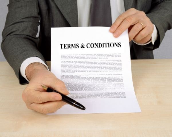 accessing terms and conditions while offboarding old msp